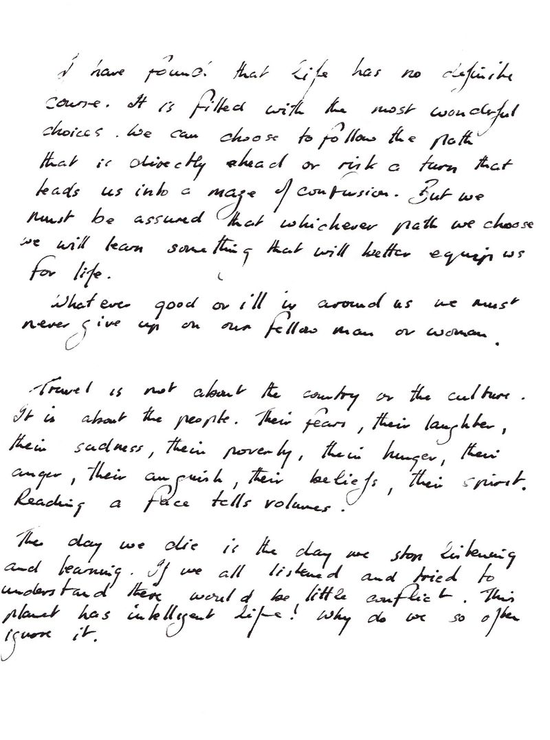 Damon's Writing 1
